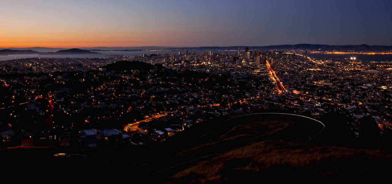 Bay Area at Night